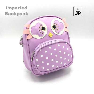 Owl mini backpack Profile Picture
