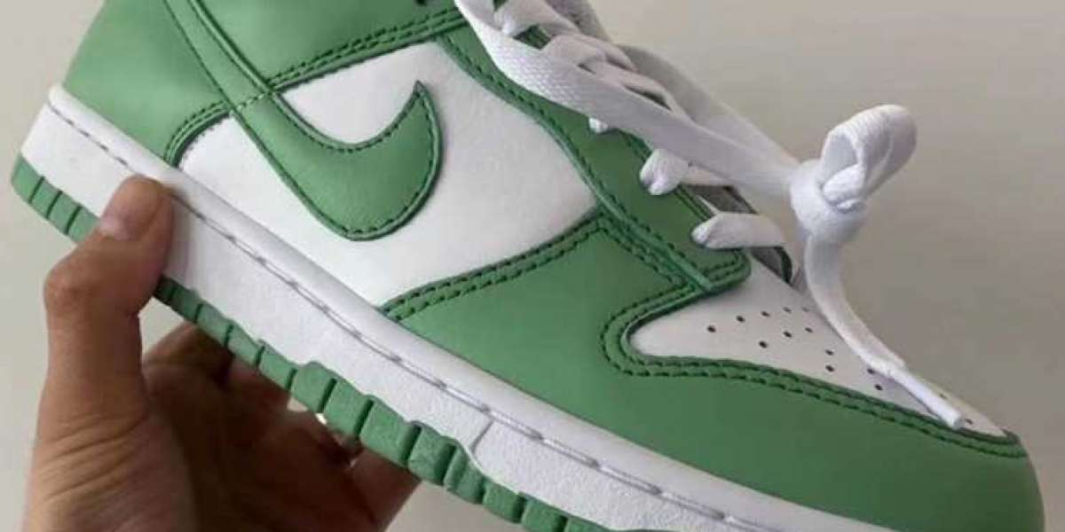 Latest CU1726-188 Nike Dunk Low Green Glow Coming Soon