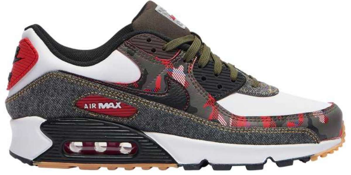 DB1967-100 Nike Air Max 90 Camo Denim Coming Soon