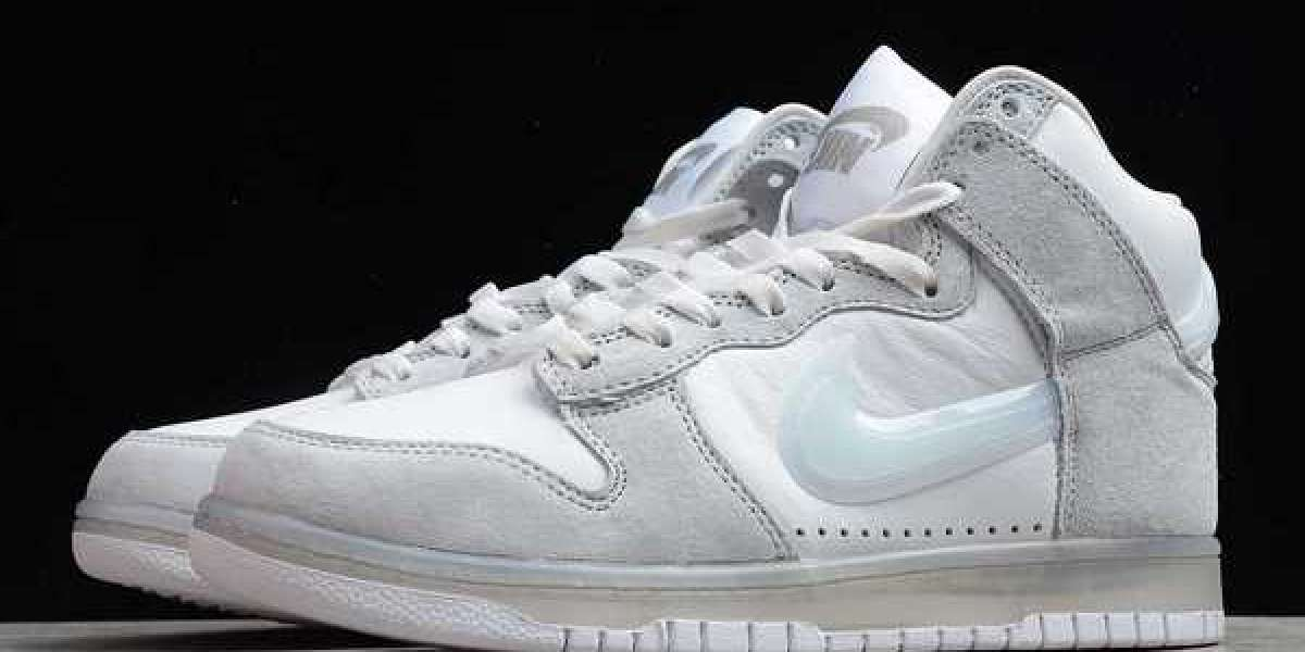 Slam Jam x Nike Dunk High White/Clear-Pure Platinum 2020 New Released DA1639-100