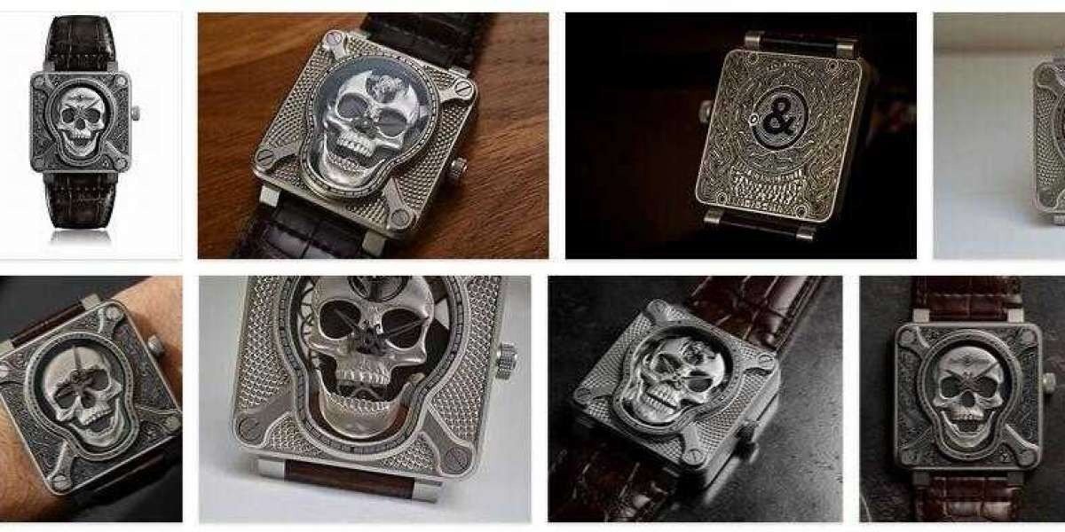 Bell and Ross BR 01 CYBER SKULL